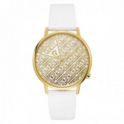 Reloj Guess mujer Watches Ladies Originals V1020M2 blanco logo detalles dorados