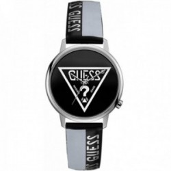 Reloj Guess mujer Watches Ladies Originals V1015M1 negro logo correa cuero bicolor