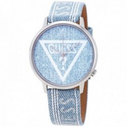 Reloj Guess unisex Watches Ladies Originals V1012M1 vaquero logo acero inoxidable