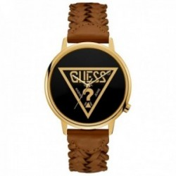 Reloj Guess unisex Watches Ladies Originals V1001M3 correa cuero trenzado