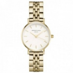 Reloj Rosefield mujer 26WSG-267 The Small Edit White Steel Gold