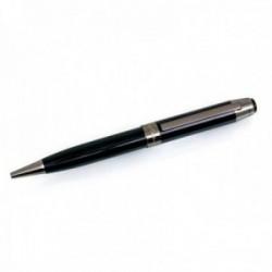 Bolígrafo Pierre Cardin 14cm. capuchón giratorio color negro detalles plomo