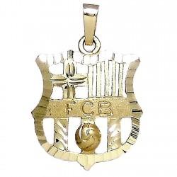 Colgante oro 18k escudo Fútbol Club Barcelona [62]