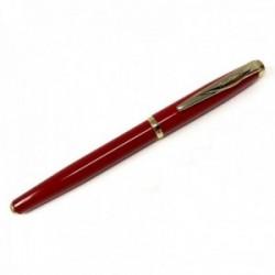 Roller Pierre Cardin 14cm. capuchón extraíble color rojo detalles dorados