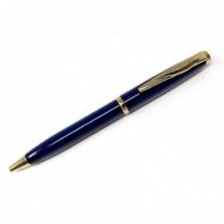 Bolígrafo Pierre Cardin 14cm. capuchón giratorio color azul detalles dorados