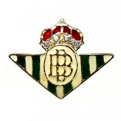 Pin oro 18k escudo Real Betis Balompié [421]