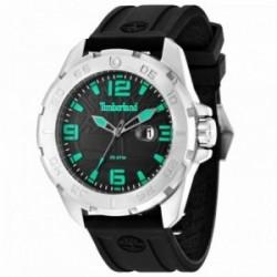 Reloj Timberland hombre 14416JS-02P Waterville Black correa silicona