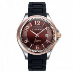 Reloj Viceroy hombre 47889-45 colección Penélope Cruz cristal zafiro correa silicona