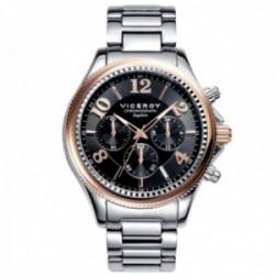Reloj Viceroy hombre 47891-95 colección Penélope Cruz acero inoxidable bicolor cristal zafiro