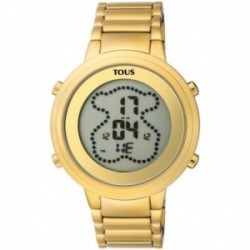Reloj Tous mujer digital Digibear 900350035 acero inoxidable IP dorado