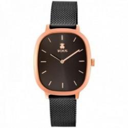 Reloj Tous mujer Heritage 900350405 acero inoxidable IP correa milanesa