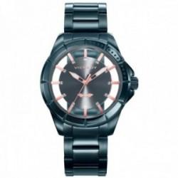 Reloj Viceroy hombre 401051-57 colección Antonio Banderas Design esfera transparencia acero IP