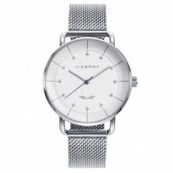 Reloj Viceroy Mujer 42360-06 colección Antonio Banderas Design acero inoxidable malla milanesa