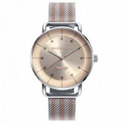 Reloj Viceroy Mujer 42360-76 colección Antonio Banderas Design acero bicolor IP malla milanesa