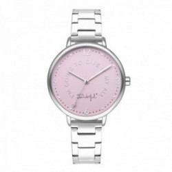 Reloj Mr. Wonderful mujer WR10101 SHINE AND SMILE pulsera acero inoxidable