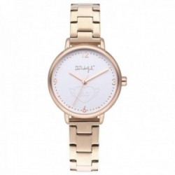 Reloj Mr. Wonderful mujer WR15000 SHINE AND SMILE pulsera acero inoxidable