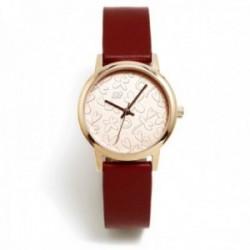 Reloj Agatha Ruiz de la Prada AGR283 colección Maya Arena burdeos acero inoxidable