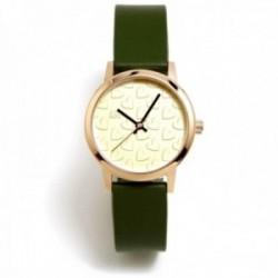 Reloj Agatha Ruiz de la Prada AGR285 colección Maya Arena verde oliva acero inoxidable