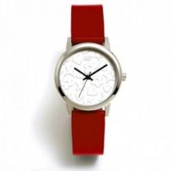 Reloj Agatha Ruiz de la Prada AGR286 colección Maya Arena rojo anaranjado acero inoxidable
