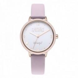 Reloj Mr. Wonderful mujer WR20100 WONDERFUL TIME correa piel sintética