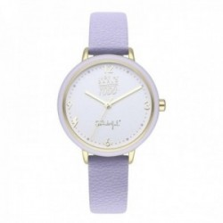 Reloj Mr. Wonderful mujer WR20300 WONDERFUL TIME correa piel sintética