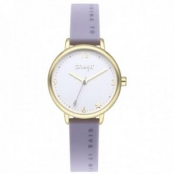 Reloj Mr. Wonderful mujer WR45301 TIME FOR FUN correa silicona