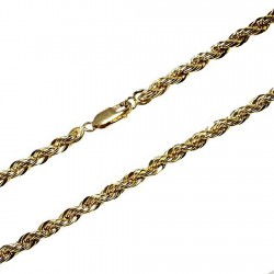 Cordón cadena Gold Filled 14k/20 50cm. salomónico [2349]