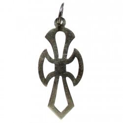 Cruz crucifijo plata Ley lisa calada [1323]