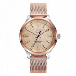 Reloj Viceroy mujer 471164-97 colección Antonio Banderas Design acero IP rosa malla milanesa