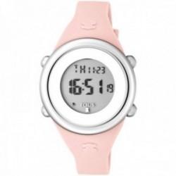 Reloj Tous niña Soft Digital 800350610 acero inoxidable correa silicona suave rosa