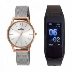 Pack reloj Radiant mujer RA438205T Fusion con pulsera actividad física SmartBand