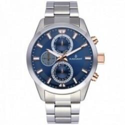 Reloj Radiant hombre RA479706 Guardian acero inoxidable multifunción detalles rosados