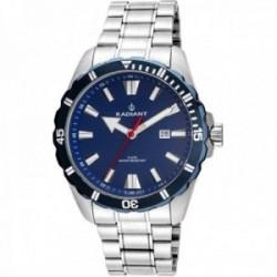 Reloj Radiant hombre RA480202 Tagrad acero inoxidable azul plateado