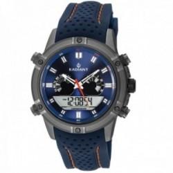 Reloj Radiant hombre RA483601 Walker azul anológico digital multifunciones