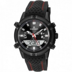 Reloj Radiant hombre RA483602 Walker negro anológico digital multifunciones