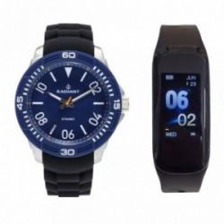 Pack reloj Radiant hombre RA503603T Aren con pulsera actividad física SmartBand