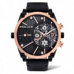 Reloj Police hombre PL.15381JSBR-61 colección Vigor acero inoxidable multifunción