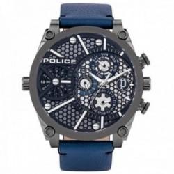 Reloj Police hombre PL.15381JSU-61B colección Vigor acero inoxidable multifunción