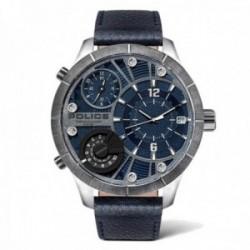Reloj Police hombre PL.15662XSTU-03 colección Bushmaster acero inoxidable triple huso horario