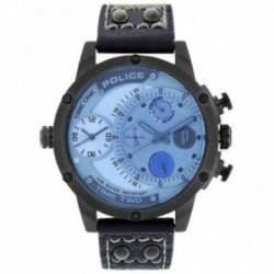 Reloj Police hombre PL.14536JSU-13A colección Adder acero inoxidable multifunción