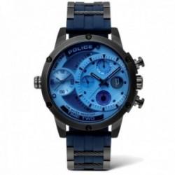 Reloj Police hombre PL.14536JSU-04P colección Adder acero inoxidable multifunción