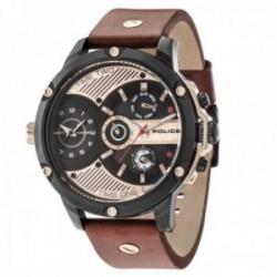 Reloj Police hombre PL.15049JSB-02 colección Leader acero inoxidable multifunción