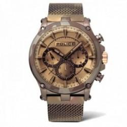 Reloj Police hombre PL.15920JSMBN-20MM colección Taman mulltifunción camuflaje malla milanesa