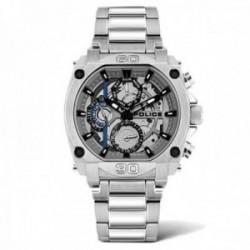Reloj Police hombre PL.15472JS-13M colección Norwood acero inoxidable liso multifunción