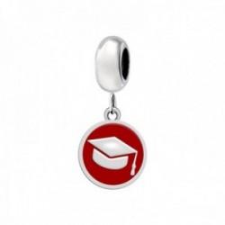Charm Morellato SCZ961 acero inoxidable 25mm. colección Drops birrete rojo mujer