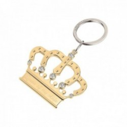 Llavero Morellato SD7148 acero inoxidable 9cm. colección Keyholder corona circonitas mujer