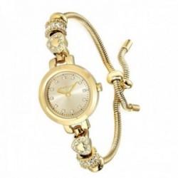 Reloj pulsera Morellato R0153122545 mujer colección Drops adaptable cola topo charms corazones
