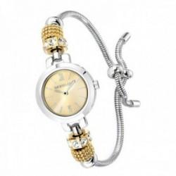 Reloj pulsera Morellato R0153122546 mujer colección Drops adaptable cola topo charms circonitas