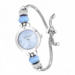 Reloj pulsera Morellato R0153122548 mujer colección Drops adaptable cola topo charms circonitas