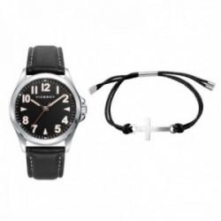 Juego pack reloj Viceroy 42397-54 niño colección Next pulsera cruz acero inox. adaptable cuerda